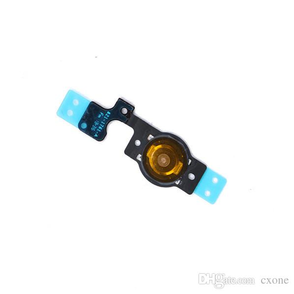 New Quality Replacement For iphone 5 5G 5C Home Menu Button Flex Cable Fully Fomplete Assembly Repair Parts