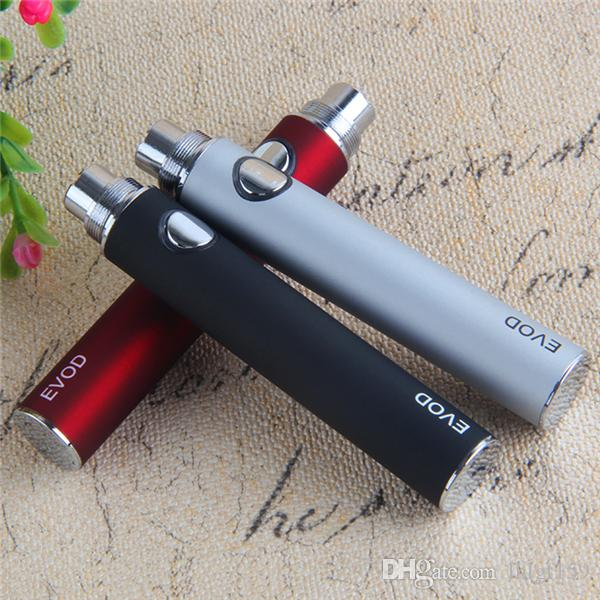 e cigaretter evod 650 900 1100 mAh 510 Vape batteri för torr ört vax penna patroner atomizer