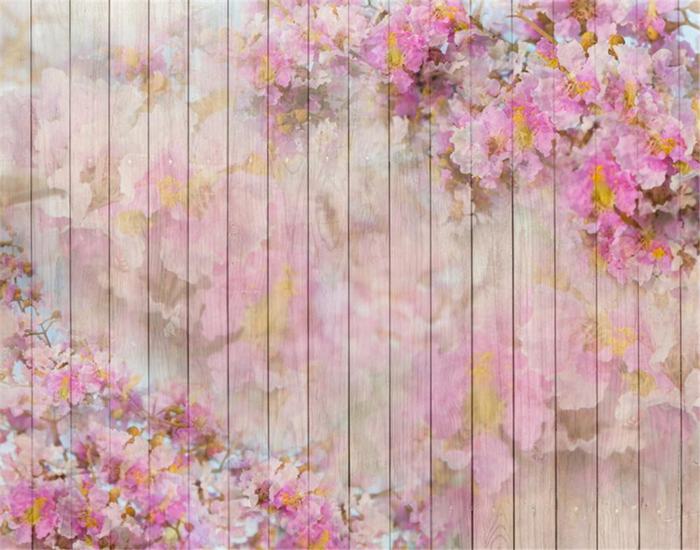 2019 Pastel Pink Wooden Planks Photo Shoot Backgrounds For ...