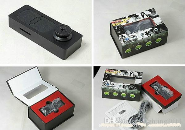 botón Cámara HD 1280 * 960 Mini videocámara Botón DVR Audio Grabador de video AVI Dispositivo de escucha de vigilancia de seguridad en caja minorista