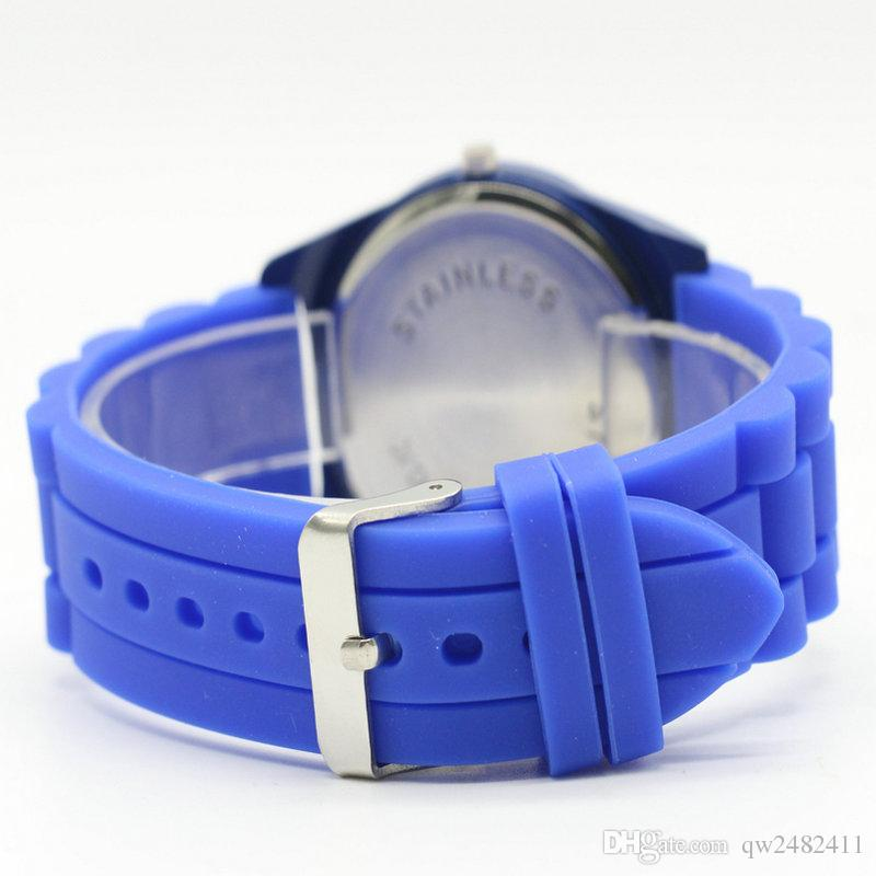 Casual Women Men Unisex Animal Style Dial Silicone Strap Analog Quartz Wrist watch