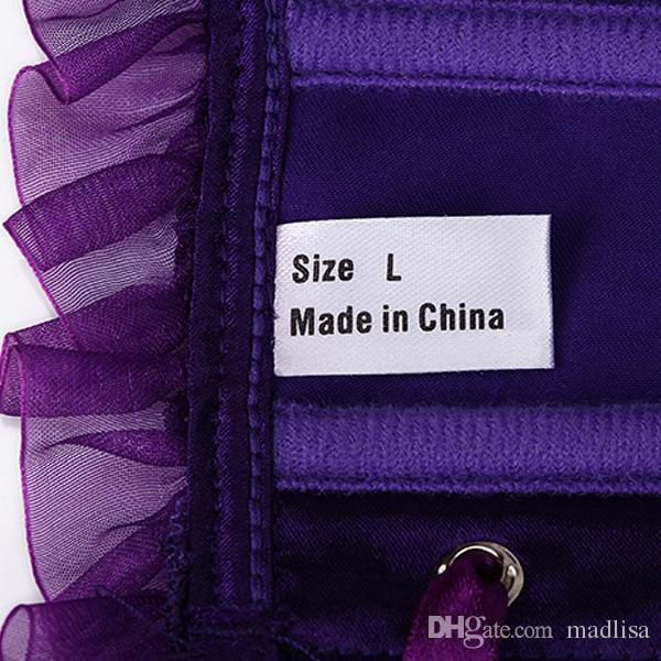 Heißer Kuchen auf Lager Weibliche Sexy Wunderschöne Korsetts und Bustiers Plus Size Damen Korsett Tops Made in China 0803