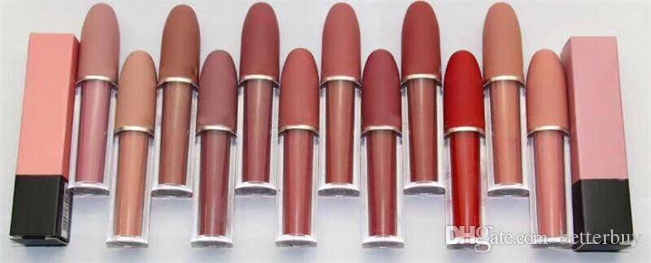 New Hot Makeup Matte Lipstick lip gloss Waterproof Long-lasting High Quality Best Price DHL Free