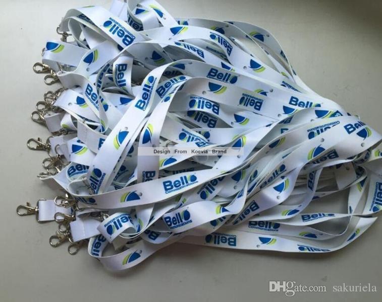 Schnelles VERSCHIFFEN-Gewohnheit 1-Zoll-Logo bedruckte Siebdruckereigniskonferenzgeschäfts-Förderungsgeschenkhals-Abzugriemenbügel