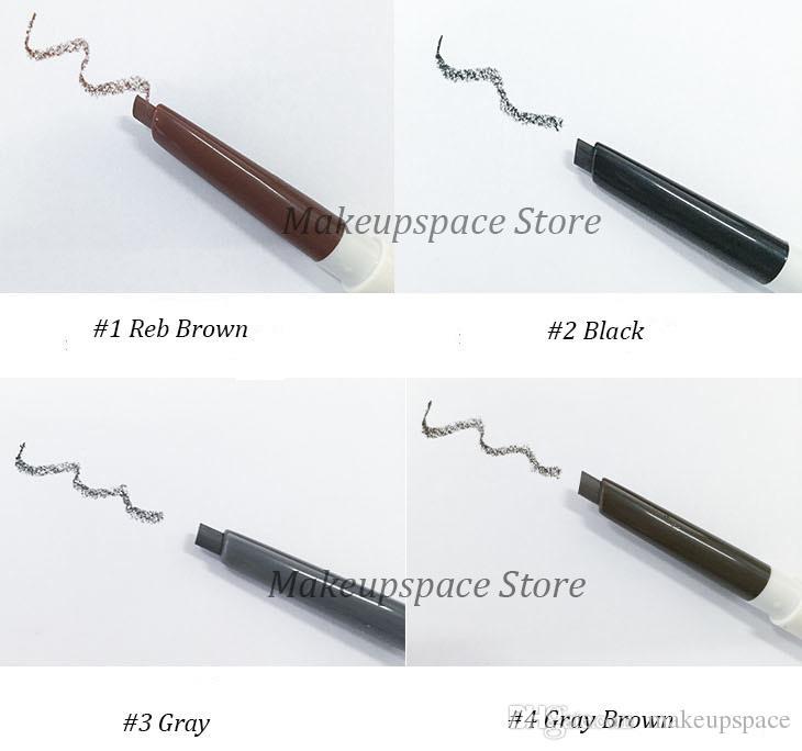 Innisfree Eyebrow Pencil and Eyelash Brush Dual-Purpose Eyes Makeup Eyebrow Pen with Mascara Brush Eyelash Curler Korea Brand