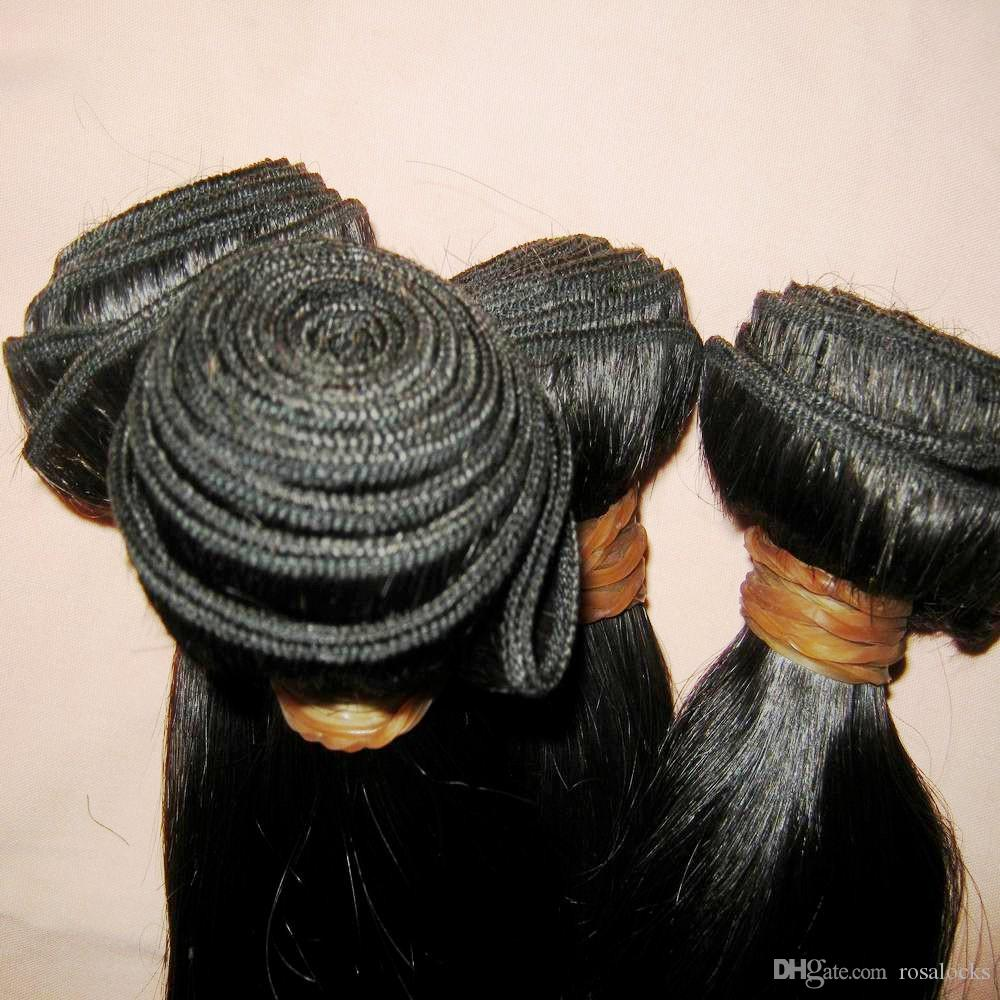 "BEST Malaysian Virgin Hair Straight 12""-28"" Beauty Locks Products 8A Original Human Hair Weave"