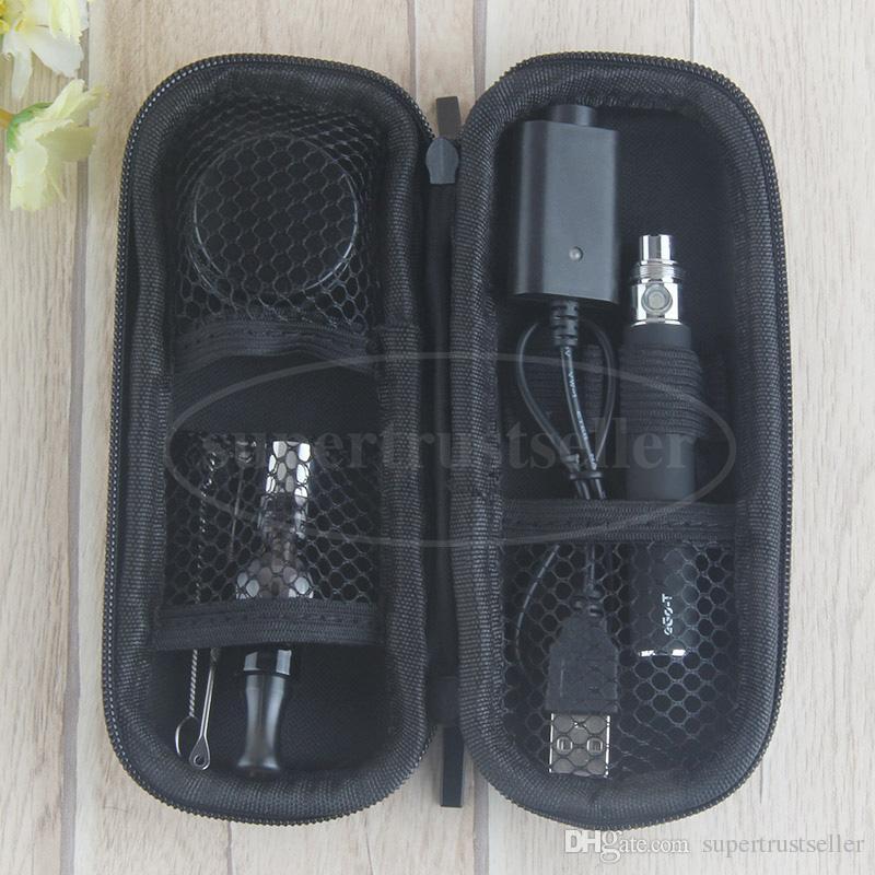 eGo T Glass Globe Bulb Starter Kit 650 900mAh 1100mah Ego Evod Battery Wax Dome Vaporizer Dab Vape Pen