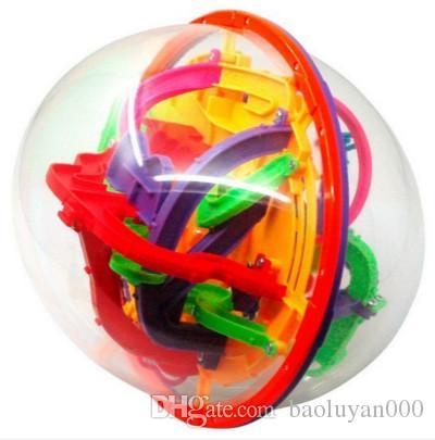 Children intelligence toys 3 d maze ball magical fancy Magic Cube orbit parent-child interaction child IQ open Educational Toys