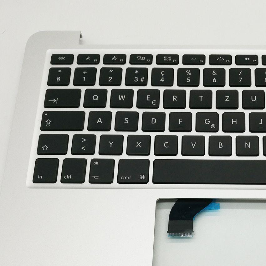 "New SW Swiss Switzerland Topcase Top Case Palmrest Keyboard For Macbook Pro 13"" A1502 2015 2016 Years"