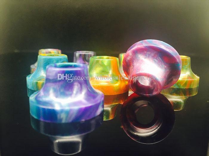 2017 Limitless Plus Drip Tips Epoxy Resin Drip Tips Mouthpiece Epoxide Resin Drip Tip fit Limitless Plus Atomizers vs TFV8 TFV12