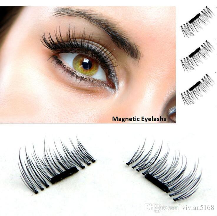 75b150513a6 2017 New Magnetic Eye Lashes 3D Mink Reusable False Magnet Eyelashes  Extension 3d Eyelash Extensions Magnetic Eyelashes Makeup =Xxl Lashes  Eyelash Glue From ...