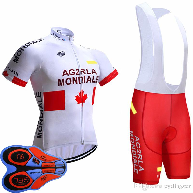 2017 Pro Team AG2R Cycling Jersey Short Sleeve Bike Clothing MTB Ropa  Ciclismo Bicycle Shirt And Bib Shorts New 9D GEL Pad D0707 Merino Cycling  Jersey Mens ... 70201bc3d