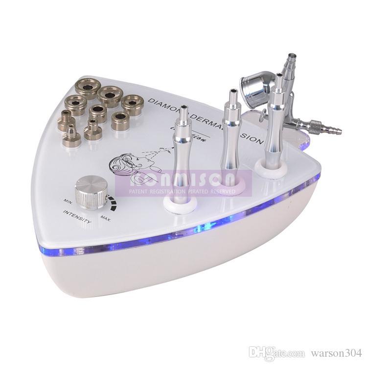 Microdermabrasions-Maschine für Hauptgebrauch 2 in 1 mit Sauerstoff-Sprüher für Gesichtsreinigungs-Haut-Schalen-Falten-Abbau Diamant-Dermabrasion