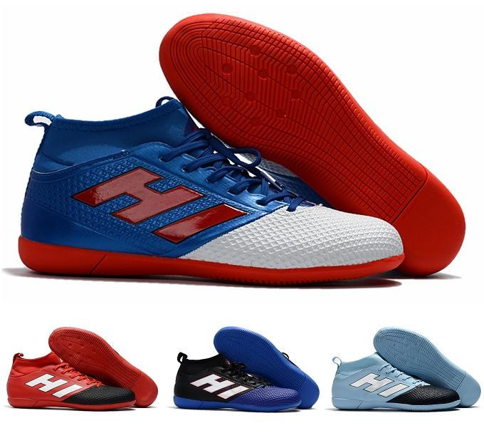0cce1648 2019 Factory Outlet High Quality 2017 New Arrival Men'S Indoor Soccer Shoes  ACE 17.3 Primemesh IN Football Boot Size EUR39 45 From Ggg_01, $95.18 |  DHgate.