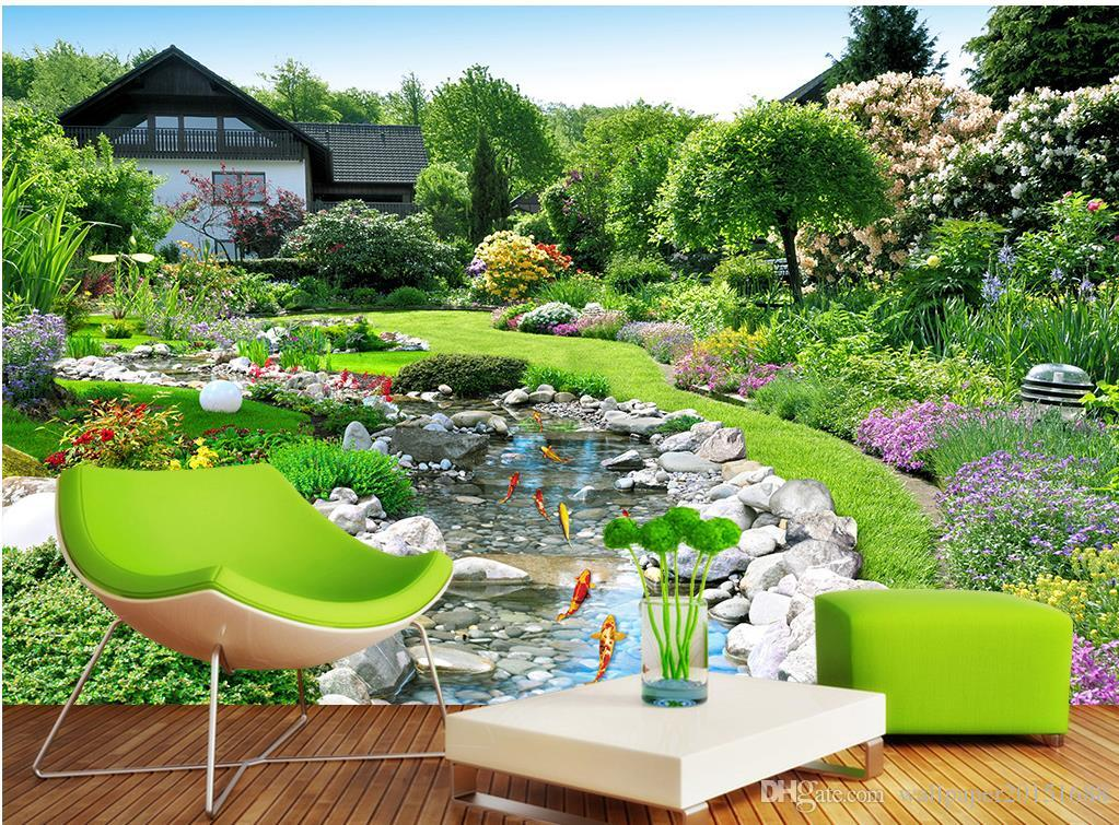 garden wall mural cheap garden wall mural wallpaper free shipping garden wall