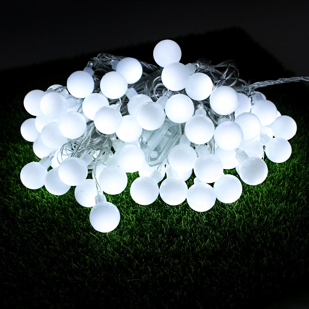 Wholesale connectable 10m led string lights with 70 ball led wholesale connectable 10m led string lights with 70 ball led christmas lights outdoor indoor home party wedding docoration fairy lights easter string lights aloadofball Gallery