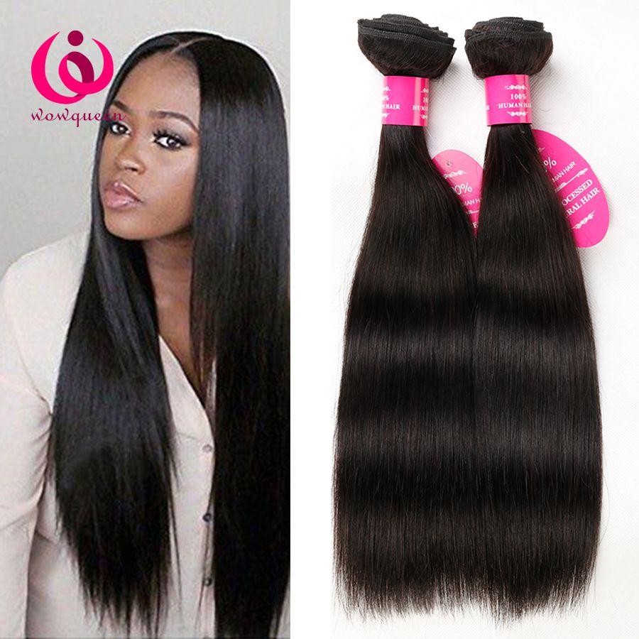 Peruvian Human Weave Hair Straight 3bundles Wow Queen Hair Products