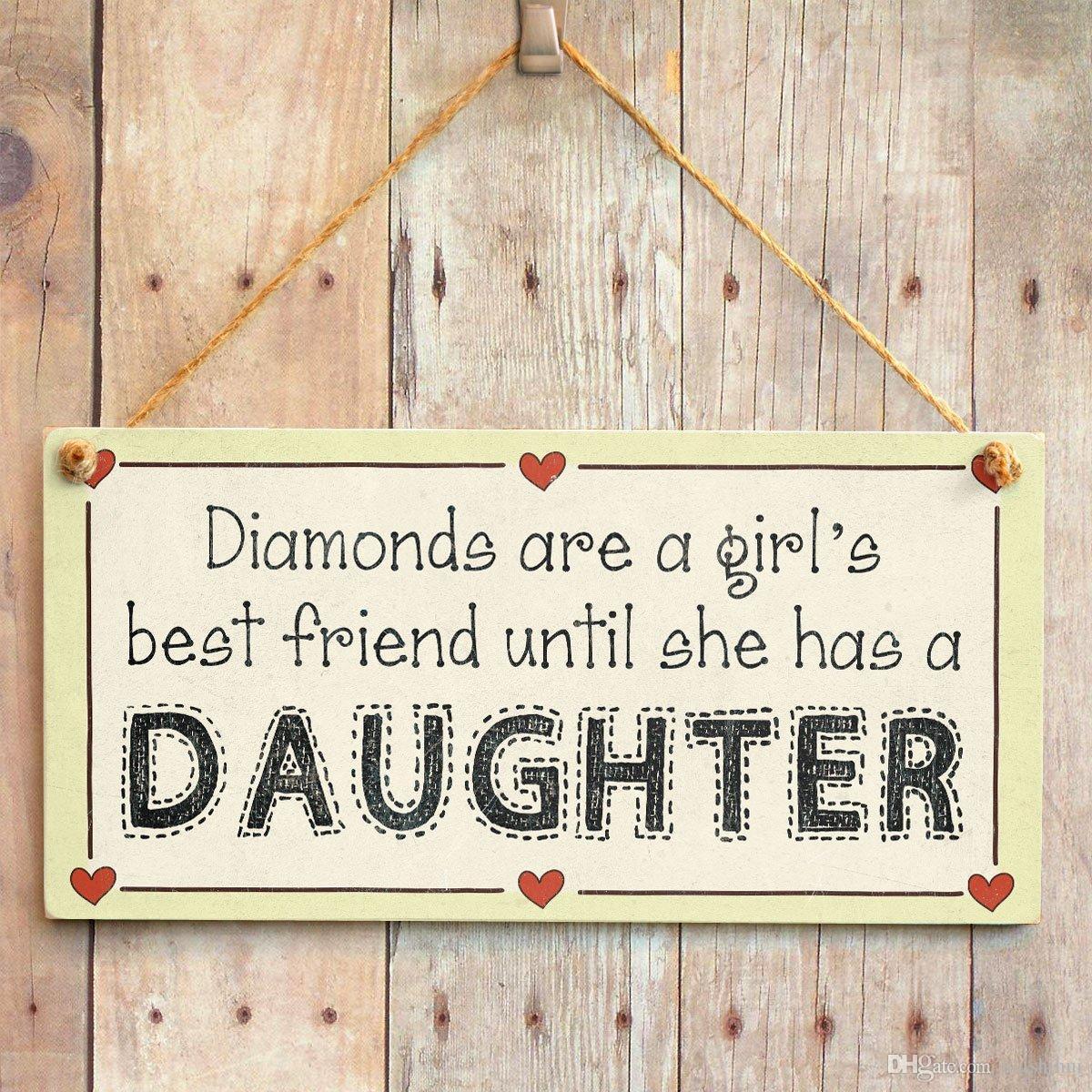 Großhandel Diamanten Sind Ein Bester Freund Der Mädchen, Bis Sie ...
