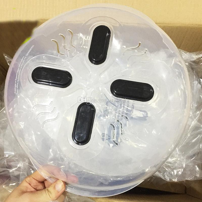 أحدث غطاء ترشيش المايكرويف غطاء ترشيش الحرس غطاء الميكروويف تحوم ضد الاخرق مع فتحات البخار متوفر WX-C54