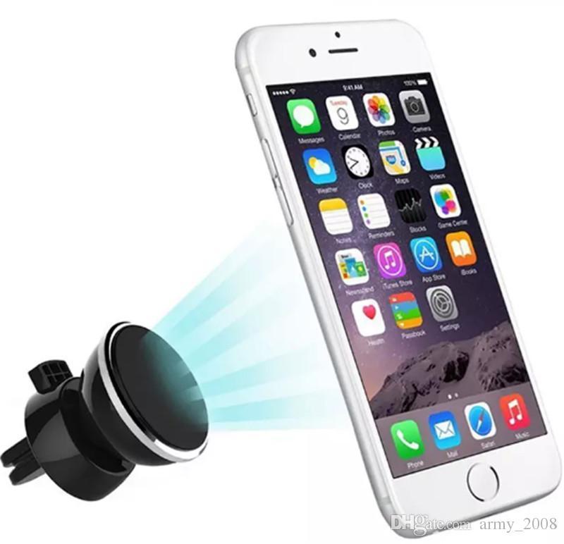 2017 новый выход воздуха мобильный телефон стойки держатель мобильного телефона Магнит кронштейн 360 градусов магнитный держатель телефона автомобильный навигационный кадр