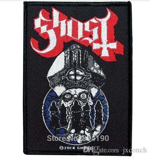 Hayalet BC. Papa Emeritus II Nameless Ghouls Yapıt Kaya Punk retro dikiş aplike demir on patch Biker Yelek Yama