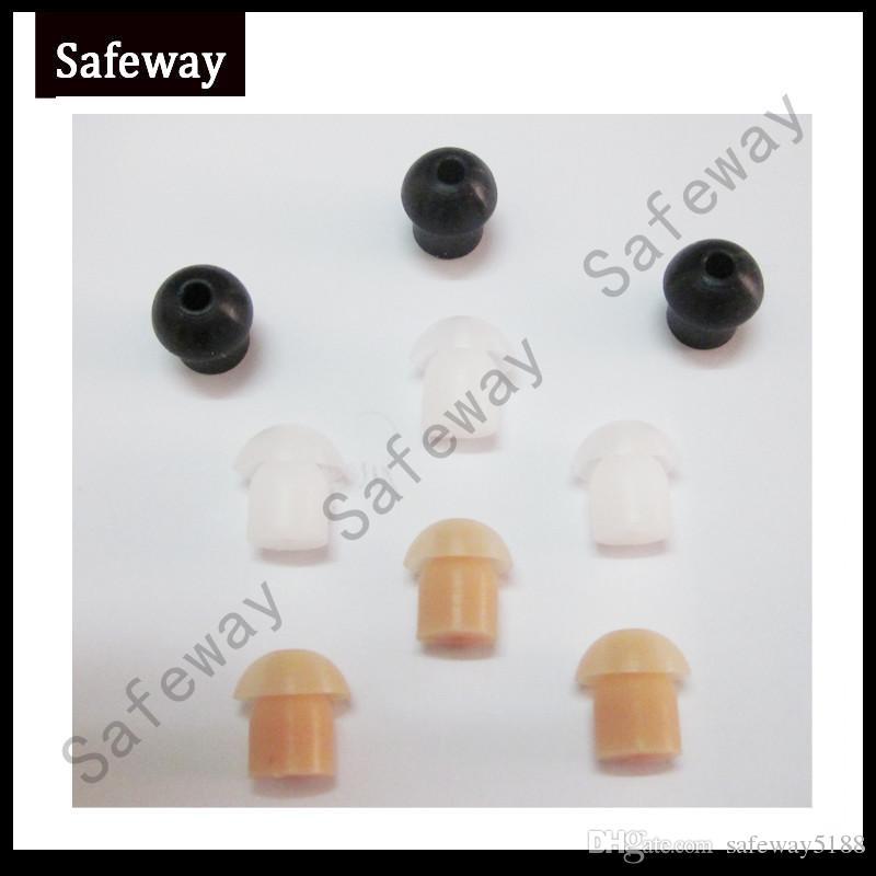 Il germoglio di orecchio del silicone del fungo del walkie-talkie / il tubo acustico bidirezionale del trasduttore auricolare del tubo dell'aria del trasduttore auricolare del tubo trasporta il trasporto libero