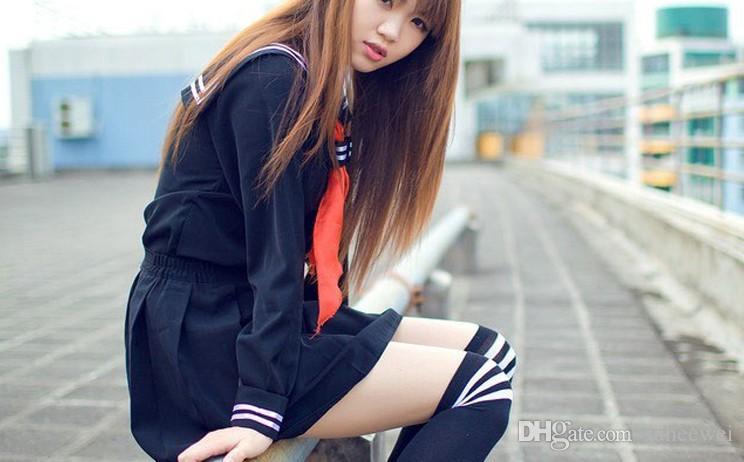 الجحيم فتاة اليابانية الثانوية فتاة بحار الموحدة البدلة تأثيري حلي مثير اللباس