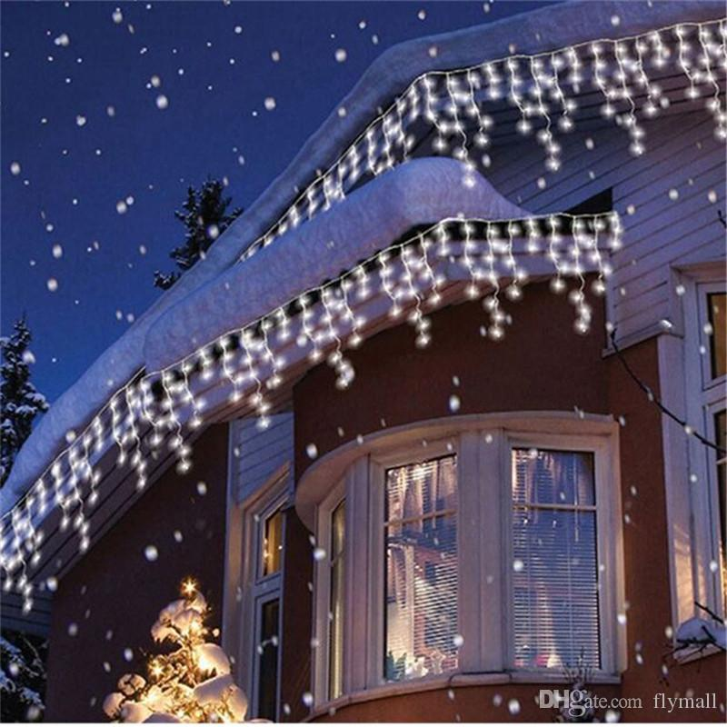 Lights & Lighting Led Lighting Latest Collection Of 3.5m 96 Led 9 Colors Wedding New Year Christmas Garland Cord Lamp Fairy String Icicle Outdoor Decoration Curtain Light