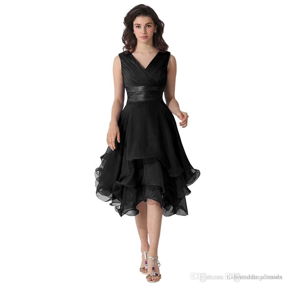 Black Short Evening Dresses