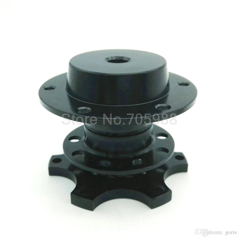 NEW Adapter Snap Off Boss Kit Universal Black Truck Car Steering Wheel Kit Quick Release HUB