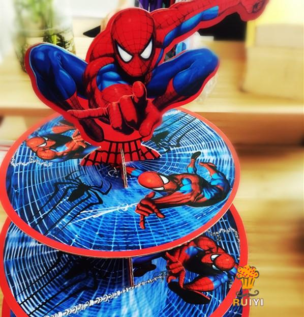 2019 Wholesale Cartoon Spider Man Birthday Party