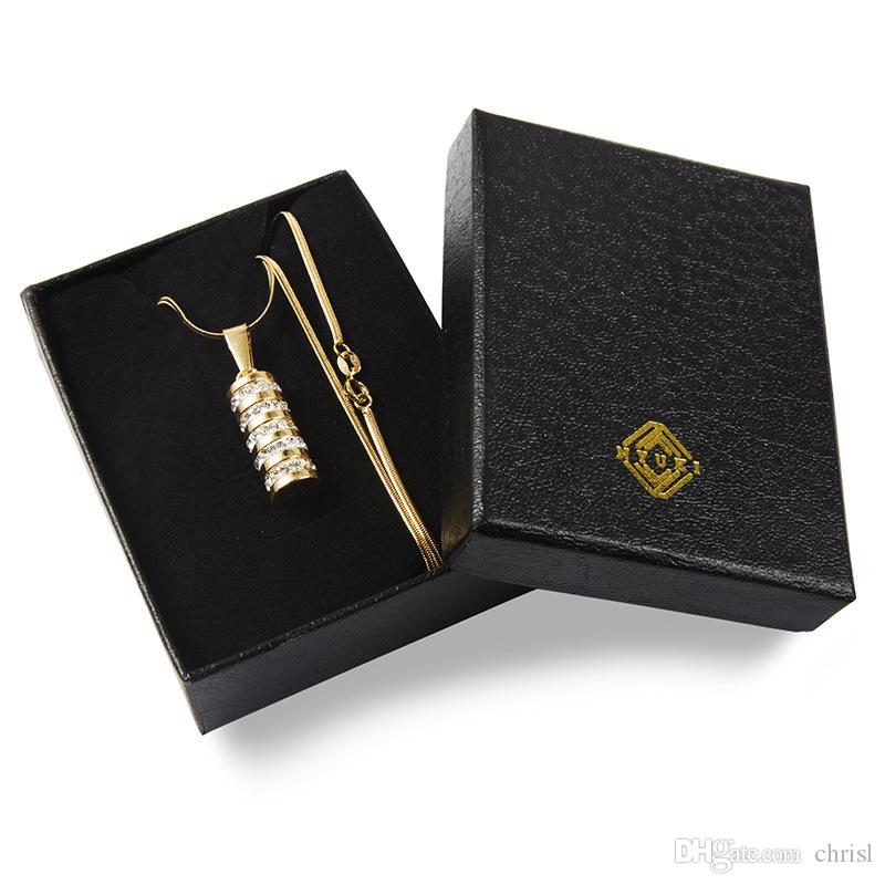 18K Gold Plated for Men and Women Brampton Bracelet New HIPHOP Rap Fashion Necklace Pendant Jewelry