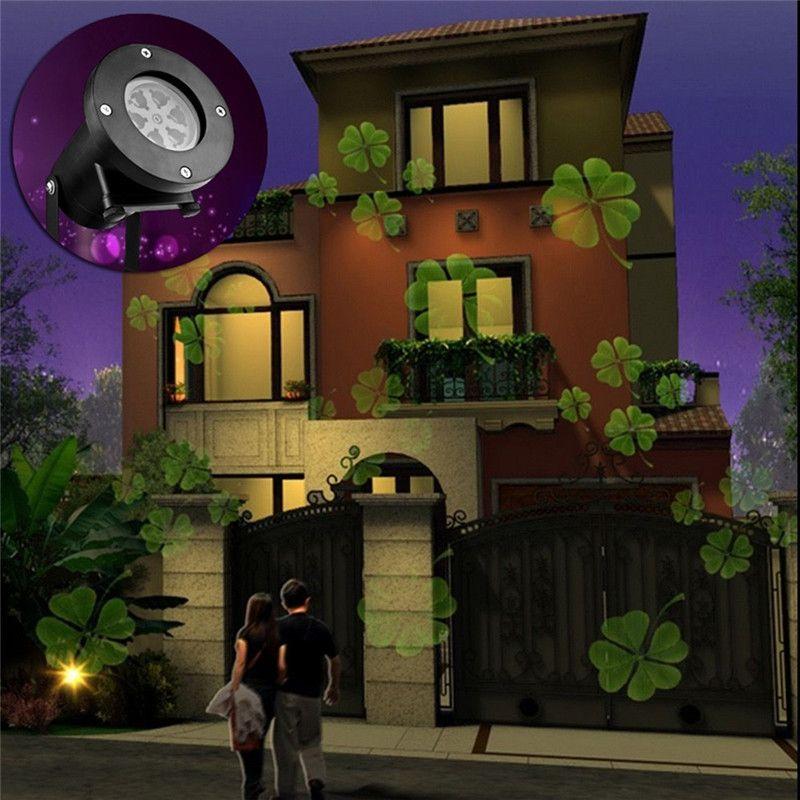 Romantic Rotating Night Light Projector Children Kids Baby Sleep Light Sky Star Lamp LED Projection 12 Pattern Atmosphere Lamp