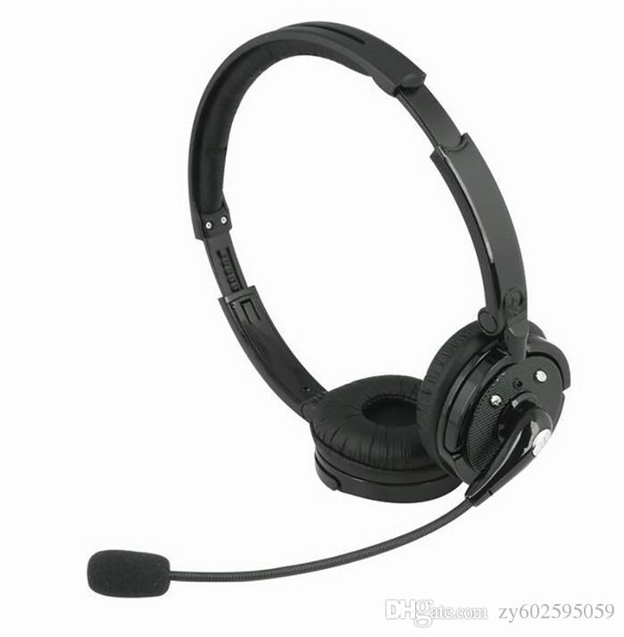 BH-M20C Bluetooth Headset with Microphone Head-mounted Games Gaming Wireless Headphone Noise Cancelling Stereo Earphone for PS3 BHM20C
