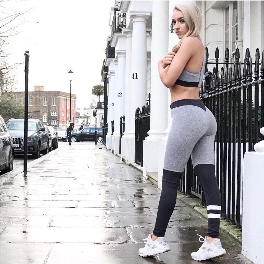 b28f67f5210c 2019 2017 Summer Women S Tight Pants Hot Selling Fashion Tip Matching Yoga  Pants Sports Running Leggingssize S XL From Chinawangshang