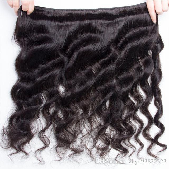 Onda allentata brasiliana capelli vergini bellezza grado Hannah capelli 4 pacchi 16-26 pollici capelli umani brasiliani vergini in vendita