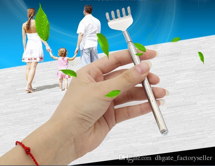 Back Scratcher Pen Clip Cheap Price Body Massager Pocket Size Portable Telescopic Extendable Extending