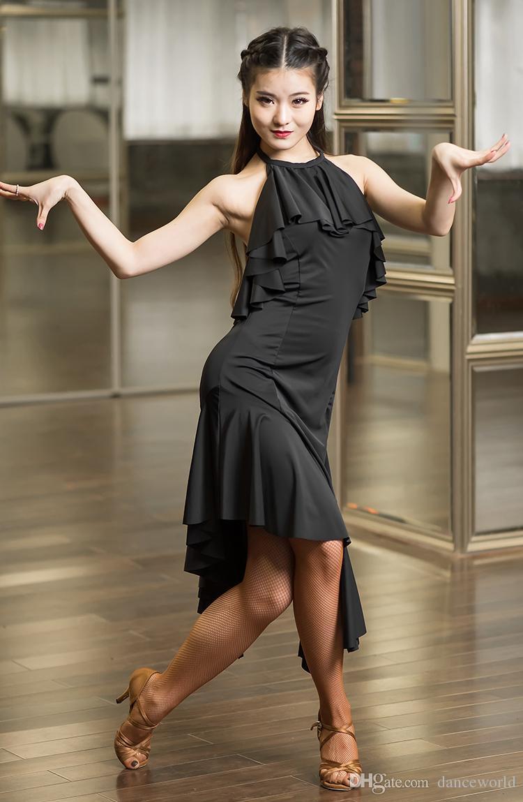 Satılık 2018 latin balo salonu elbise latin dans elbise için Elbise Latina kostüm dans kostüm için salsa tango rumba salsa elbise