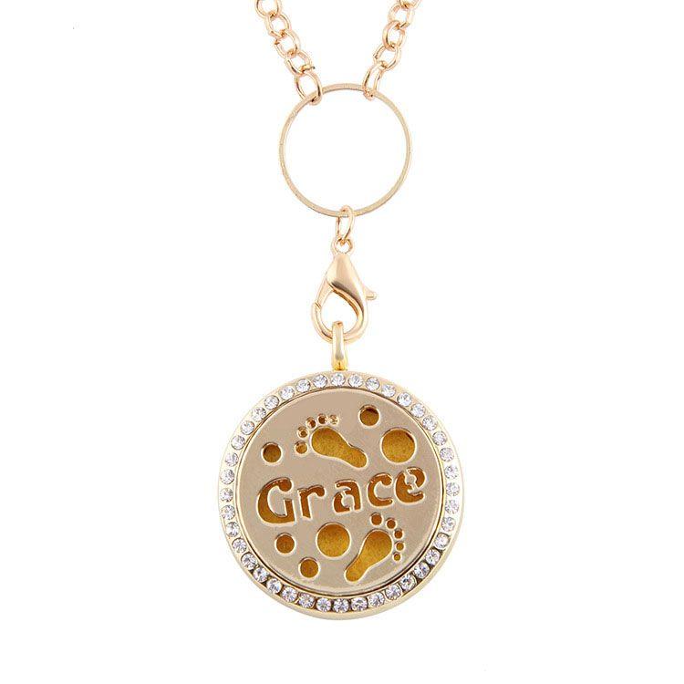 Gümüş Altın Gül Altın Buhurdan Aromaterapi Madalyon Uçucu Yağ Difüzör Yüzer Hollow Locket Kolye Kolye Parfüm Locket Kolye