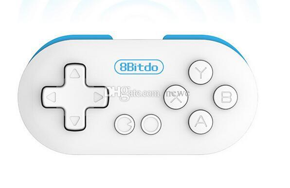 Controller di gioco Joystick 8Bitdo Zero Mini Wireless Bluetooth V2.1 Controller di gioco Gamepad Joystick Selfie Android iOS Finestra Mac OS