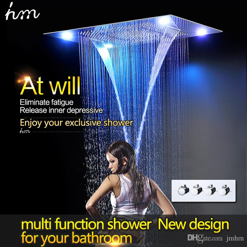 hotel bathroom accessories shower sprinkler head 600800mm with led light from jmhm dhgatecom