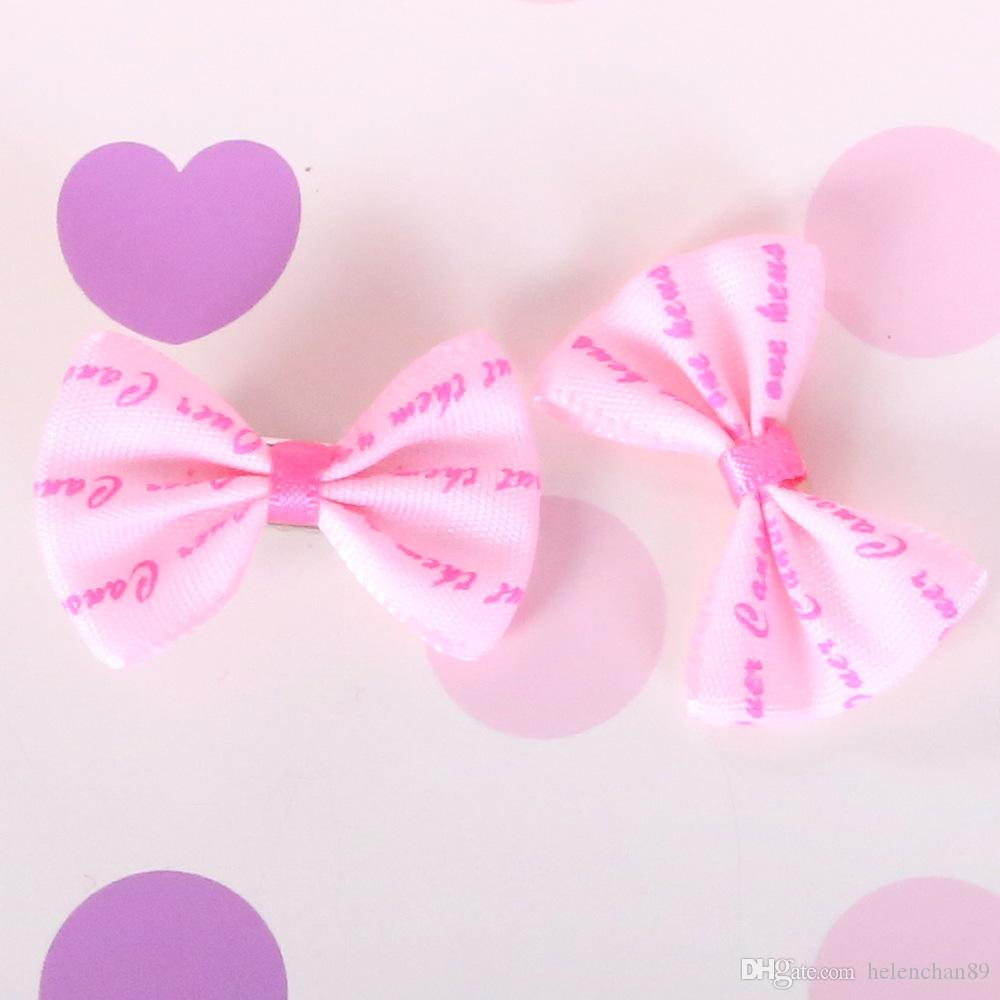 Cute Xmas Halloween Party Cloth Pet Dog Hair Clips Small Bowknot Grooming Topknot Bows Puppy Cat Hair Accessories