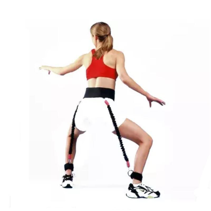 Resistance Band Fitness Bounce Trainer Rope Basketball