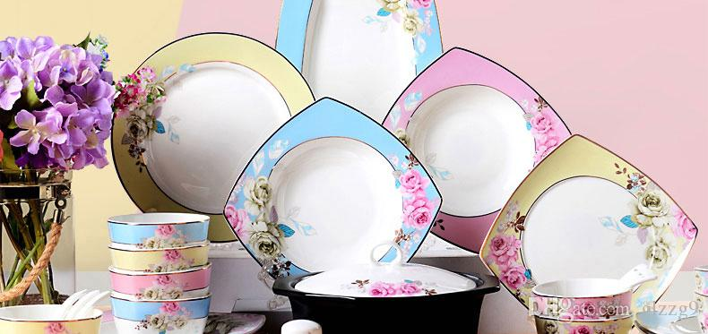 Tableware On Your Fife Dishware Set Korean High End 56 Bowls Of ...