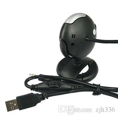 USB 6 LED 12.0 Megapixel USB PC Webcam Web Camera + Night Vision + Mic / Microphone For MSN, ICQ, AIM, Skype