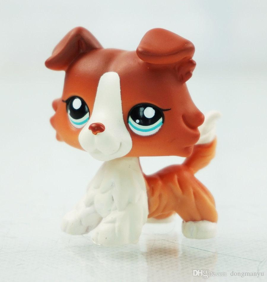 Little Pet Shop Toys 5cm Figure Lps Collie Dog 1542 Blue Eyes Uk