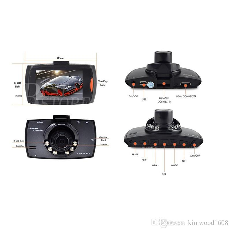 New High Quality 100 Wide Angle 1080P Car Camera Recorder Easy Drive G30 Car Detector,Motion Detection Night Vision