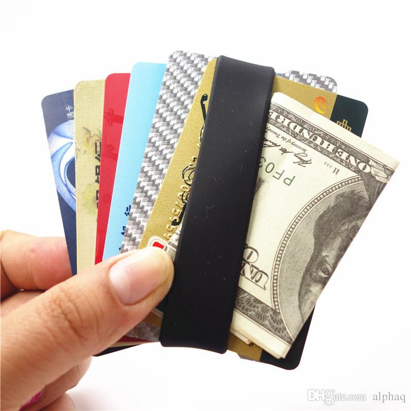 mens money clip and front pocket wallet carbon fiber wallet with credit card holder and id case rfid blocking carbon fiber wallet clip credit card holder - Money Clip Credit Card Holder