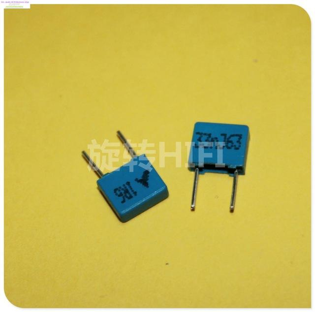 Wholesale- 2015 Direct Selling Blue Supercapacitor 20pcs Epcos B32529  333/63v 0 033uf 33nf New For Coupling Capacitance P5 Free Shipping