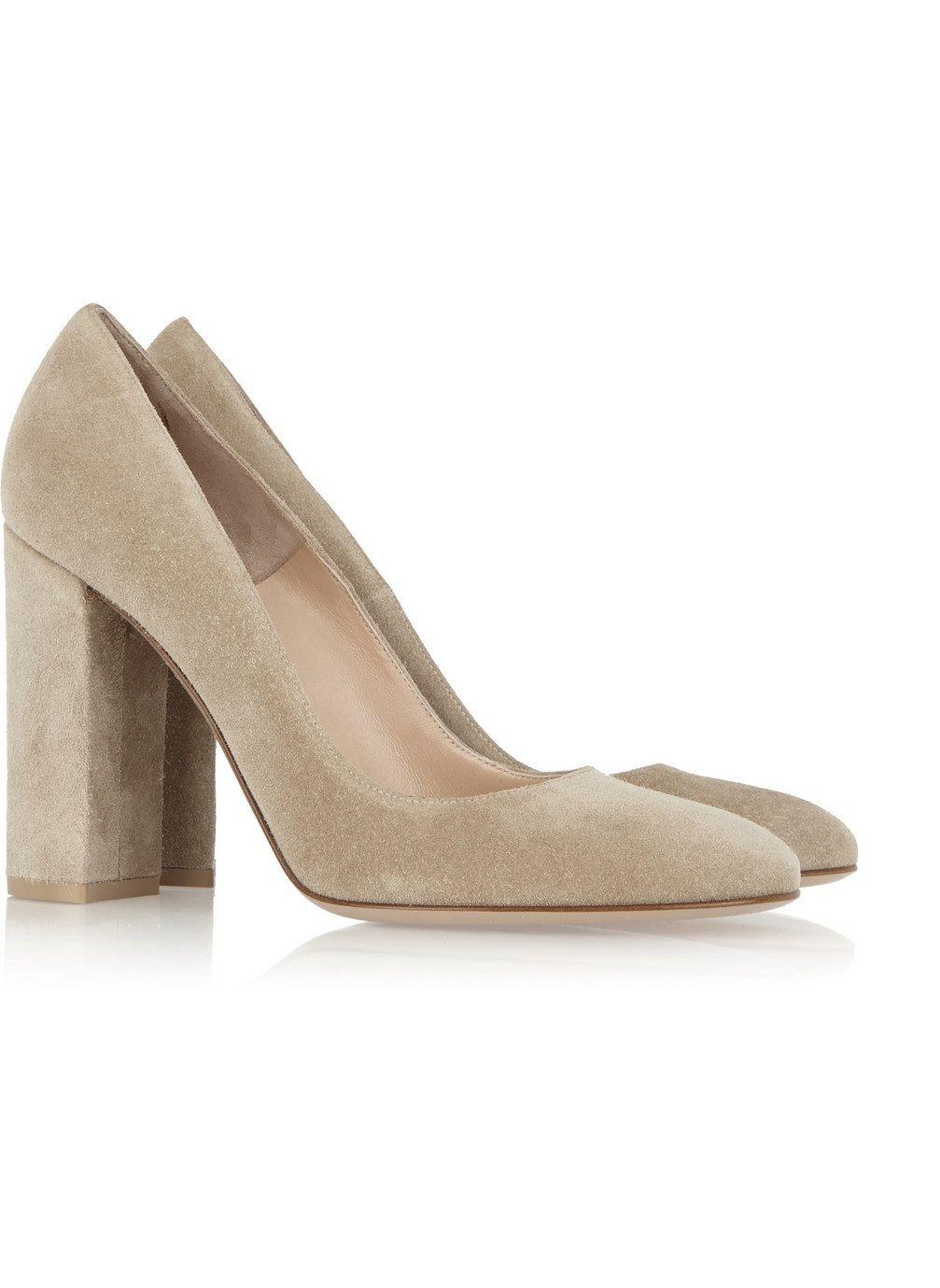 Zandina Ladies Handmade Fashion Thick Tallone tacco alto scarpe da ufficio partito pompe tacco grigio